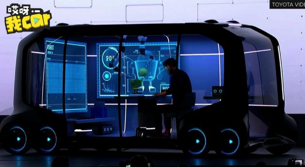 黑镜变现实 必胜客联合丰田推无人驾驶自动送披萨车