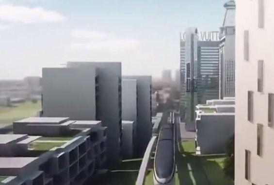 华为携手比亚迪联合实现云轨全自动无人驾驶