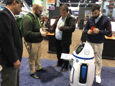 CES2018首设AI专区,家庭服务机器人火了!