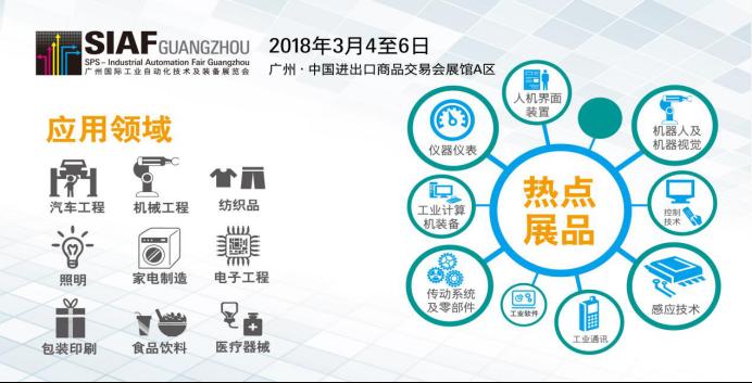 开年首秀-SIAF广州自动化展3月开展,聚焦自动化产业,打造华南智造平台!