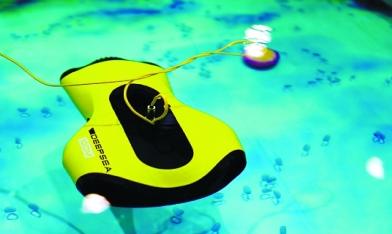会潜水的拍照机器人