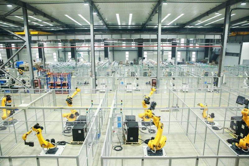 """【重磅】""""方兴为埃,MAi向未来"""" 南京埃斯顿工业机器人智能工厂正式投产——掌握核心技术,赶超世界水平!"""