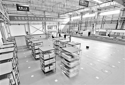 亦庄建成跨境电商智能机器人仓库