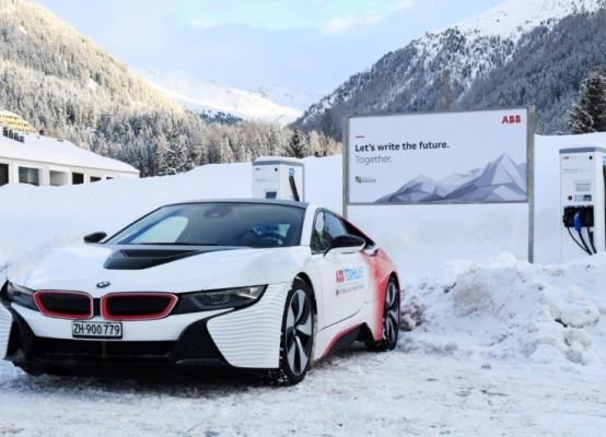 ABB携手达沃斯推动电动交通创新,谱写绿色出行未来