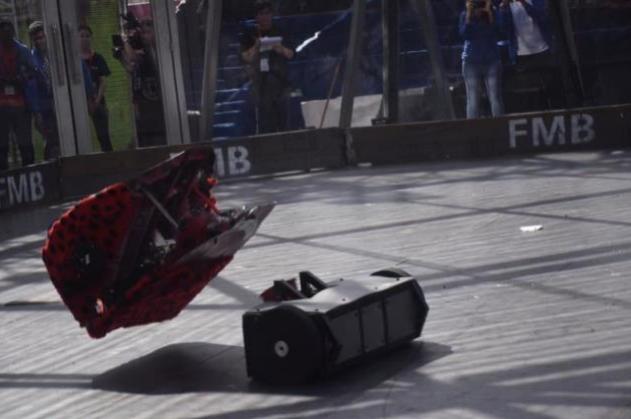 吃鸡养蛙?机器人格斗竞技或最IN 有望进亚运表演