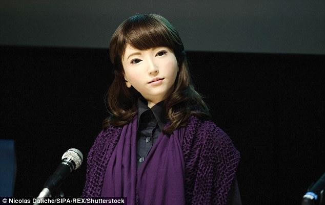 日本机器人埃里卡将有独立意识 4月出任电视新闻主播