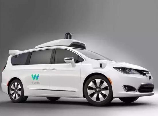 谷歌购买数千辆克莱斯勒Pacifica用于自动驾驶测试