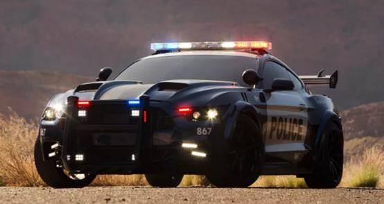 """""""超级战警""""不只存在科幻电影 福特正在研发机器人警车"""