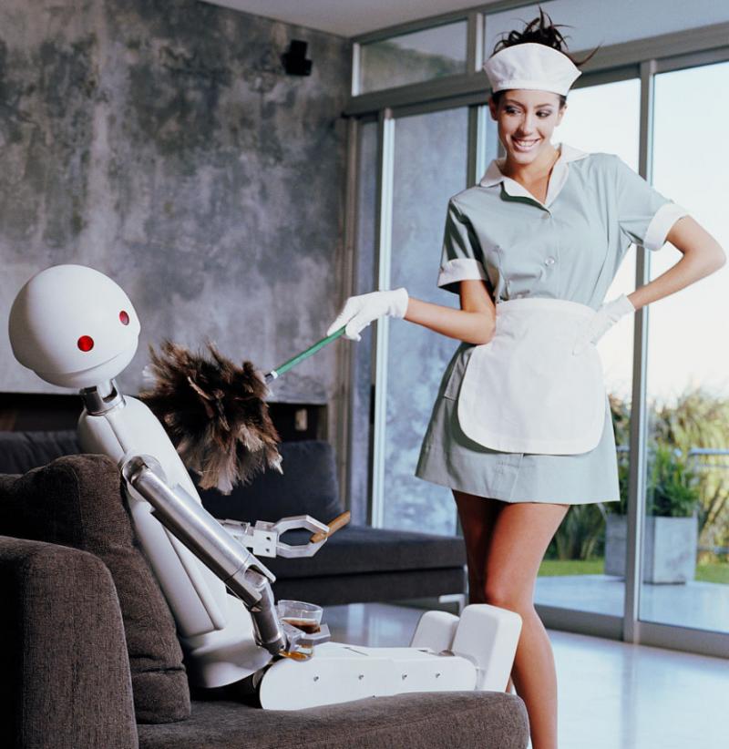 服务机器人产业起跑
