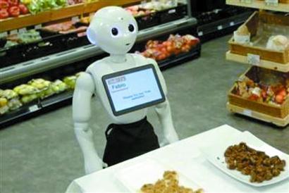 """爱丁堡 机器人""""下岗"""""""