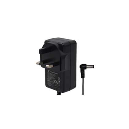 24W系列英规BS卧式电源适配器