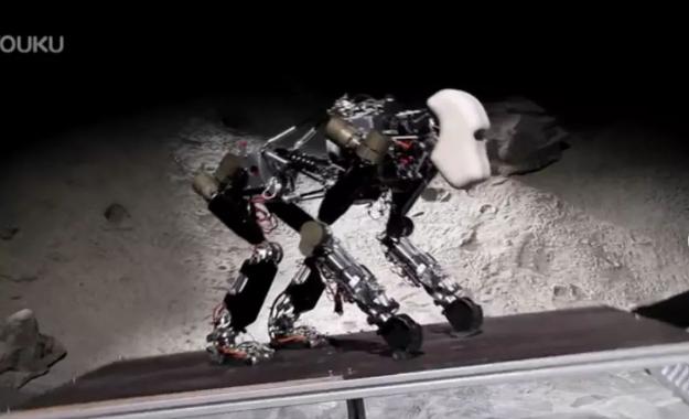 """德国研发黑猩猩机器人登月采矿,未来或将 """"称霸月球"""""""