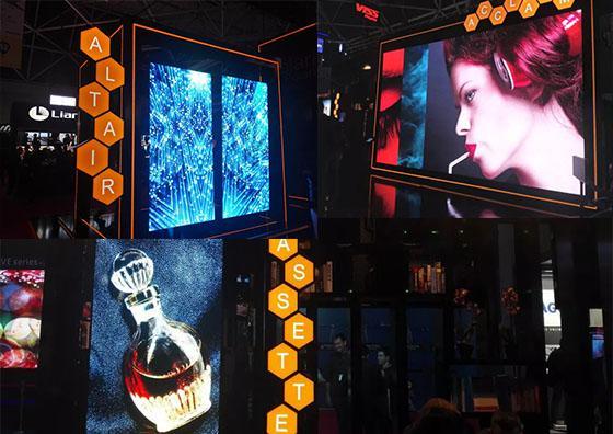"""艾比森ISE首次发布""""NEXGEN""""创新技术,展位再次入围设计大奖!"""