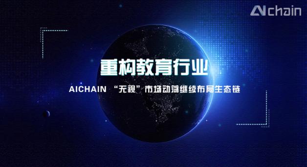 """重构教育行业,AICHAIN""""无视""""市场动荡继续布局生态链"""