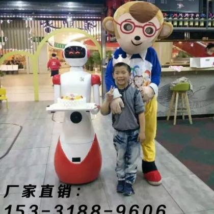 陕西省餐厅机器人、迎宾传菜发传单对话等多功能送餐机器人