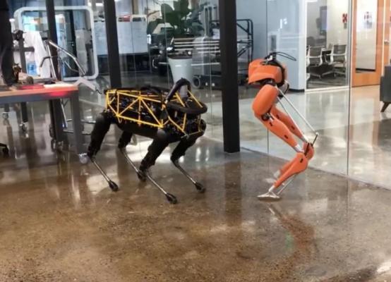 """【机器人遛机器狗】波士顿动力对手Agility Robotics获得800万美元,""""安卓之父""""投资"""