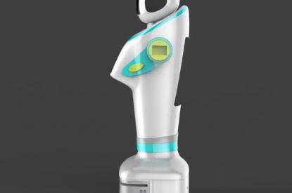 江智迎宾接待机器人