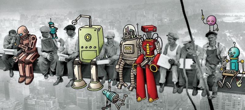 建筑机器人上岗,很快我们就无砖可搬了