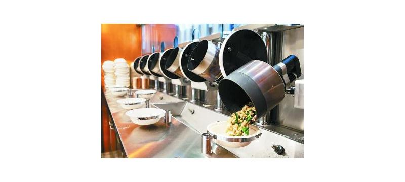 """机器人掌勺的""""无人餐厅""""是什么样"""