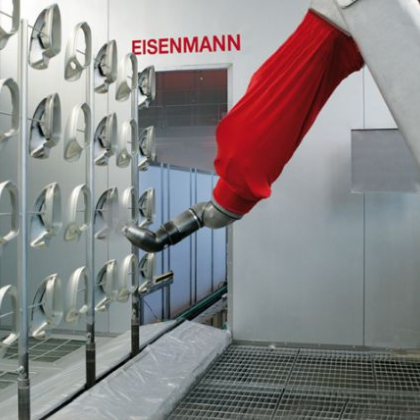 喷涂机器人生产线  汽车配件喷漆机器人  机械手涂装