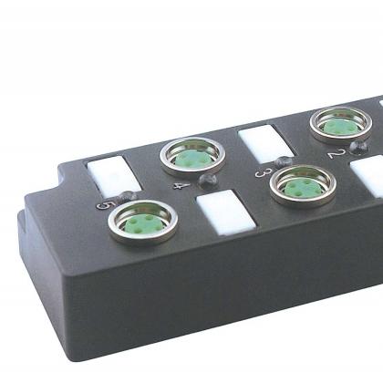 FAS富延升M8分线盒执行器分配器3针带电缆LED