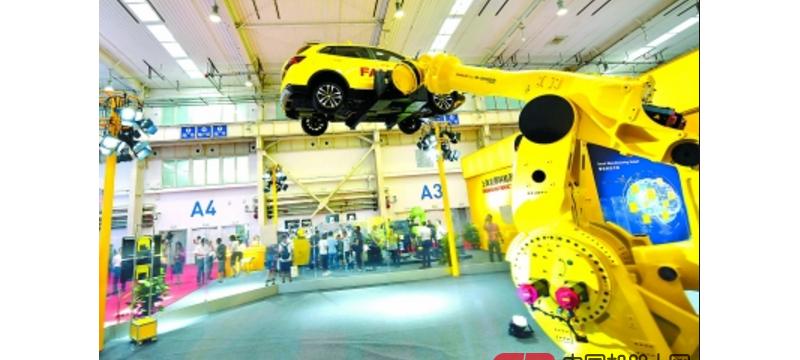"""""""机器人总动员""""北京上演  2025年本市机器人产业收入将达600亿元"""