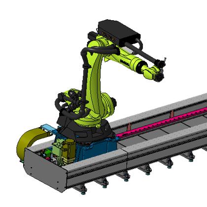 51ROBOT机器人导轨KK8系列