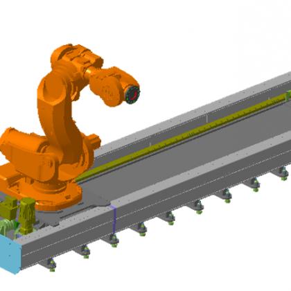 51ROBOT机器人导轨 ABB11系列