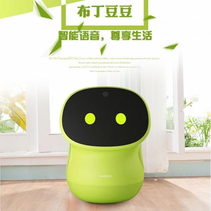 清远宇舵布丁豆豆智能机器人 儿童英语学习机视频通话同步教材翻译机