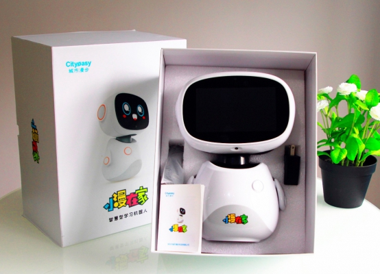小漫在家教育机器人测评:引领儿童智能教育市场!