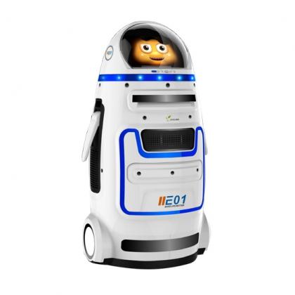 教育机器人山东新沃德机器人,沃德机器人,听我的