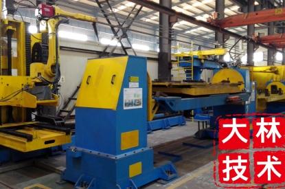 领先中厚板焊接技术机器人切割激光火焰切割桑上下料搬运