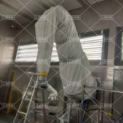机器人防护服 机器人防护罩 机器人防护衣 KUKA机器人防护服 ABB机器人防护服