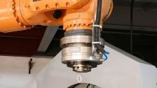 机器人气动夹头,机器人末端气动卡盘,旋转空压夹头