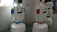 江智助力高校机器人外壳