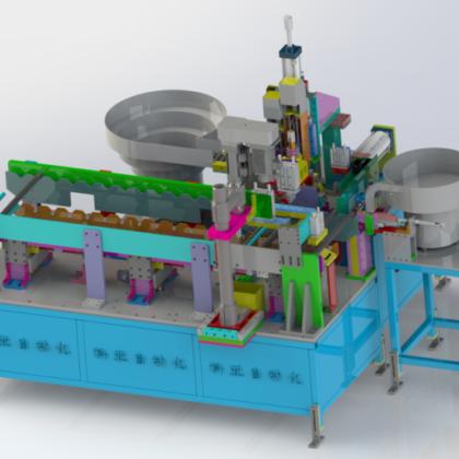 工业机器人厂家-全自动攻牙送取料一体机