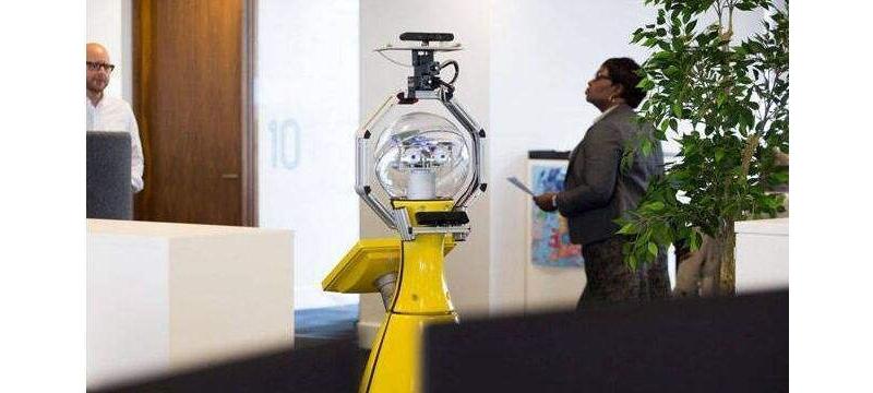 办公室机器人开始火热,将是自动化创业企业的春天