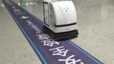 艾可无人驾驶洗地机(清洁机器人)避障视频