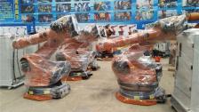 河北廊坊鹏聚机器人焊接机器人展示中
