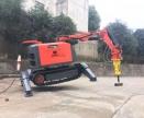破拆机器人 室内破拆方便 遥控爬楼破拆机器人