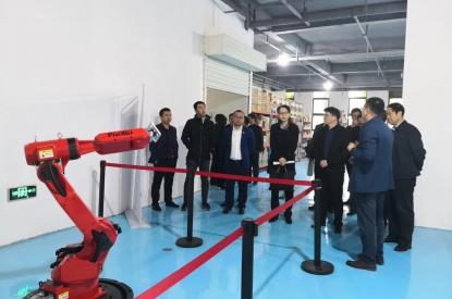 国家科技部,省科技厅,市科技局,西咸新区管委会领导来参观
