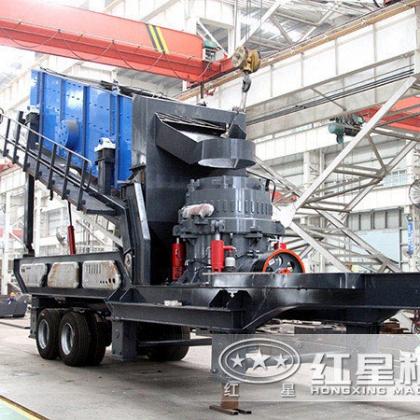 移动式小型砂石粉碎机械什么价位?ZQ77