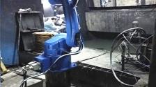 喷涂机器人 喷涂机械手视频案例 喷漆 喷粉机械手视频应用