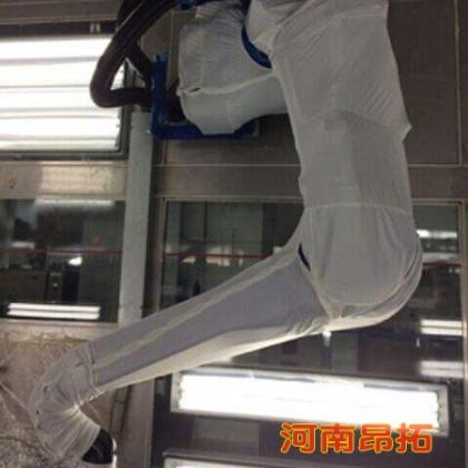 喷砂机器人防护服_安川机器人防护衣,阻燃耐磨
