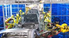 现代(Hyundai)机器人白车身焊装线