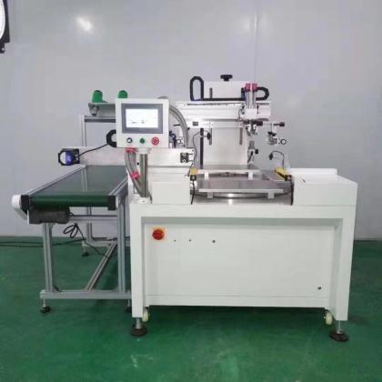 电器玻璃丝印机手机玻璃网印机玻璃面板丝网印刷机定制