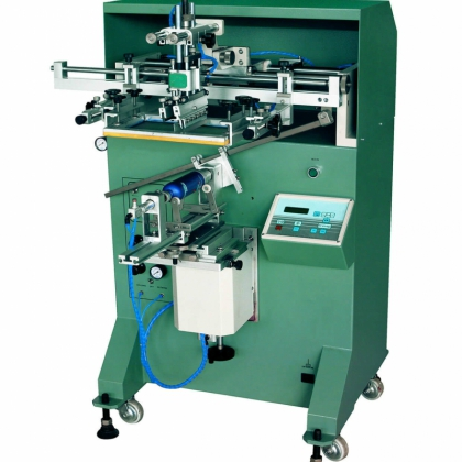圆形滚印机曲面丝印机平圆两用丝网印刷机定制