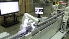 机器人组装小机器人
