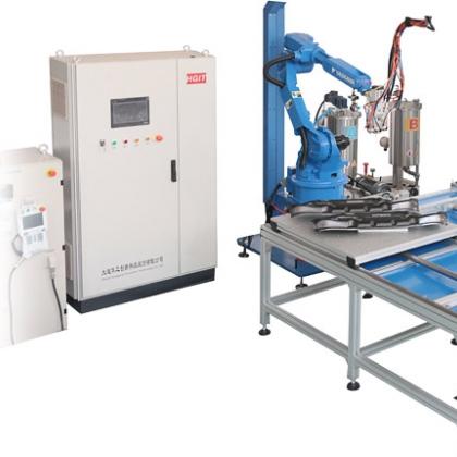 HG-TJ612 双组份六轴机器人涂胶机—大连华工