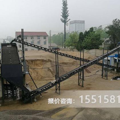 配置一套时产100吨鹅卵石制砂生产线多少钱YD85